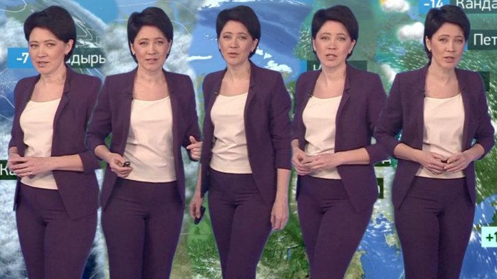 Википедия Ирина Полякова ведущая прогноза погоды на телеканале НТВ